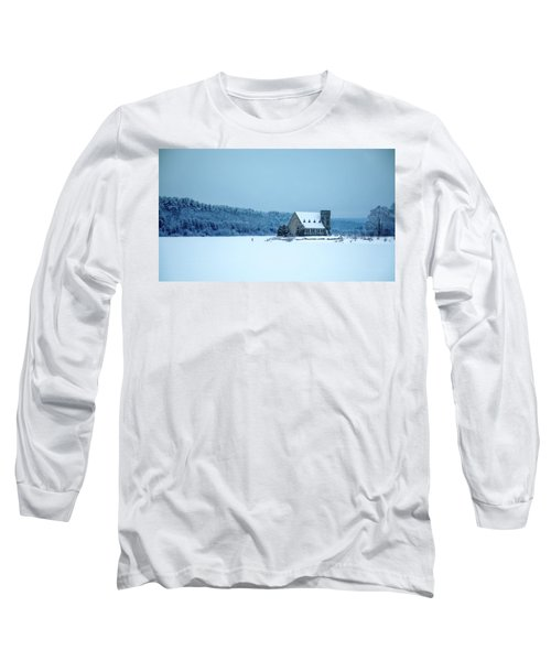 Photographer On Thin Ice Long Sleeve T-Shirt