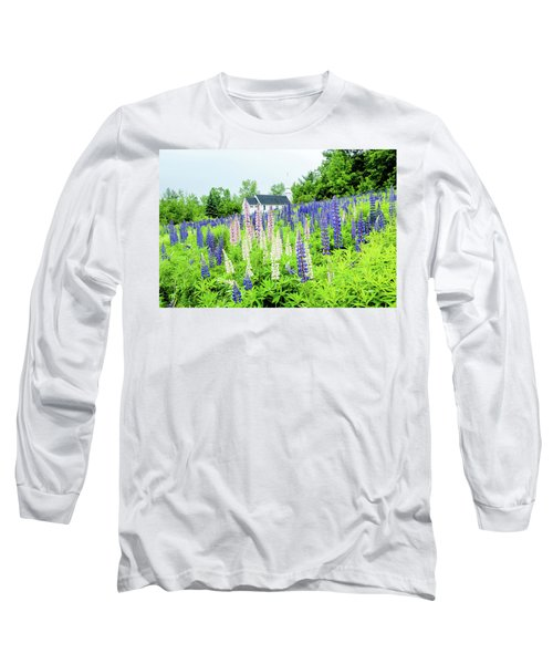 Long Sleeve T-Shirt featuring the photograph Photographers Dream Or Allergy Nightmare by Greg Fortier