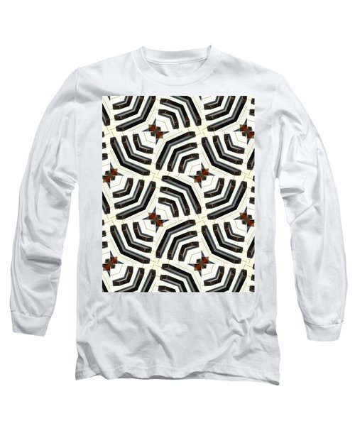 Piano Keys II Long Sleeve T-Shirt by Maria Watt