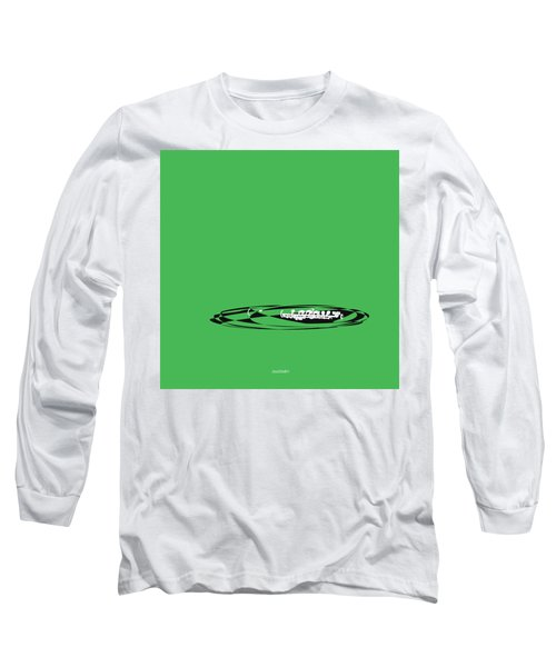 Long Sleeve T-Shirt featuring the digital art Piccolo In Green by Jazz DaBri