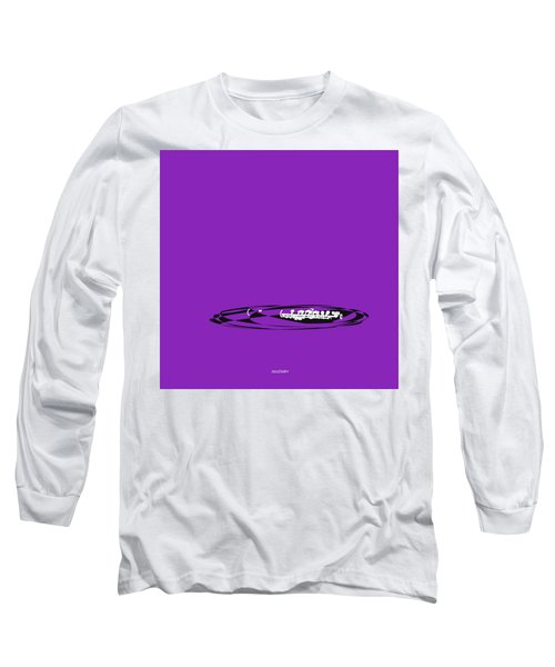 Long Sleeve T-Shirt featuring the digital art Piccolo In Purple by Jazz DaBri