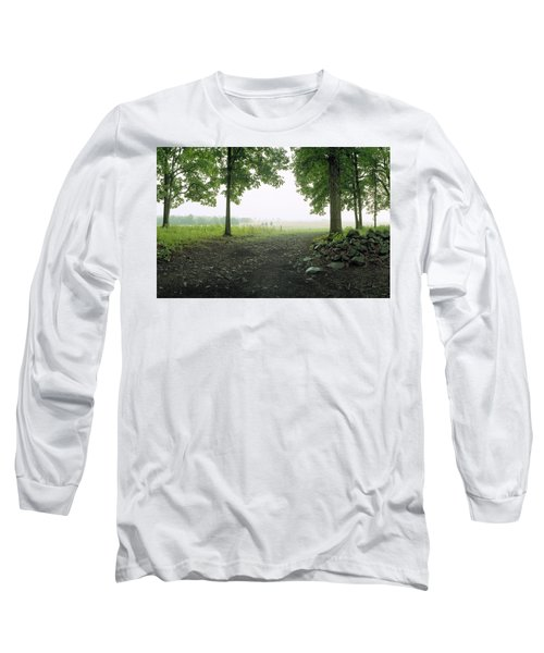 Pickett's Charge Long Sleeve T-Shirt by Jan W Faul