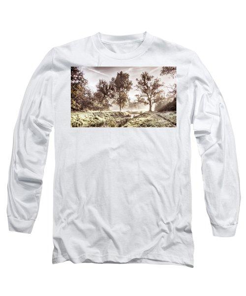 Pictorial Autumn Landscape Artistic Picture Long Sleeve T-Shirt