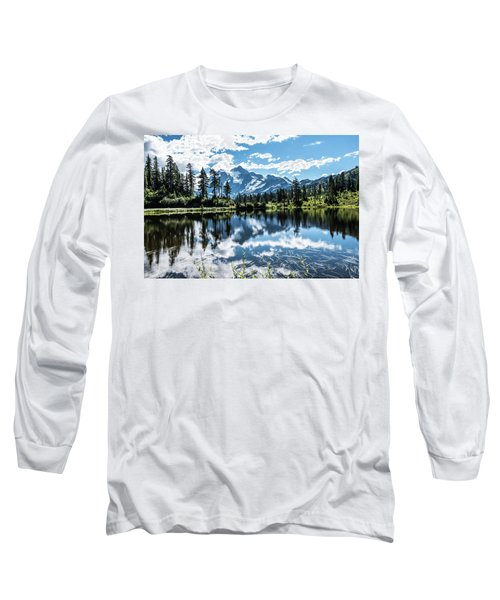 Picture Lake Long Sleeve T-Shirt