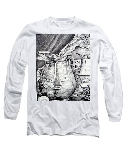 Picture Of Pitcher Long Sleeve T-Shirt