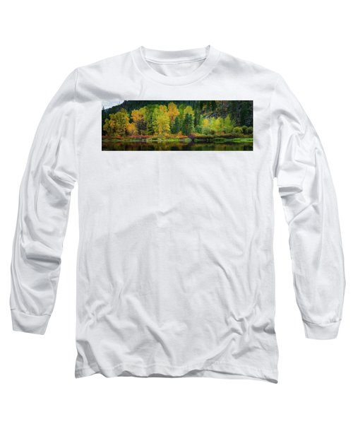 Picturesque Tumwater Canyon Long Sleeve T-Shirt by Dan Mihai