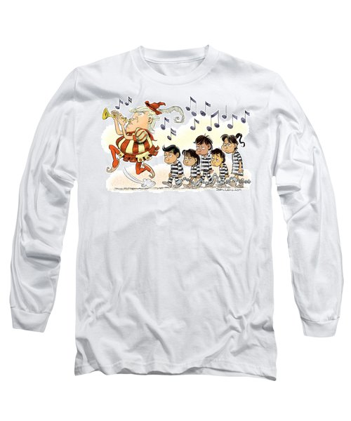 Pied Piper Trump And Infestation Long Sleeve T-Shirt