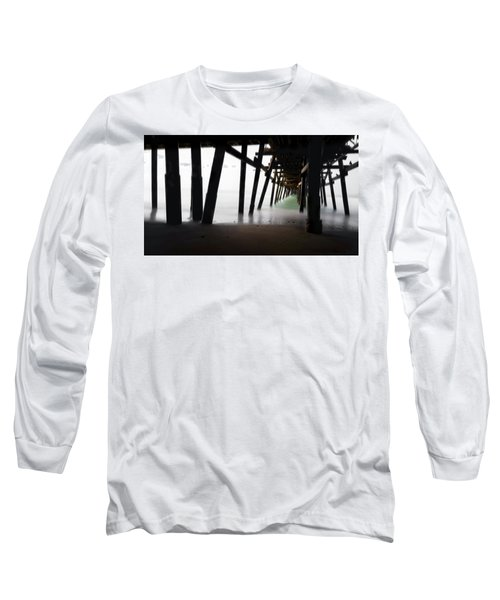 Long Sleeve T-Shirt featuring the photograph Pier Pressure by Sean Foster