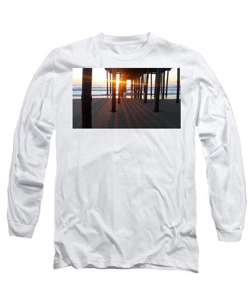 Pier Shadows Long Sleeve T-Shirt