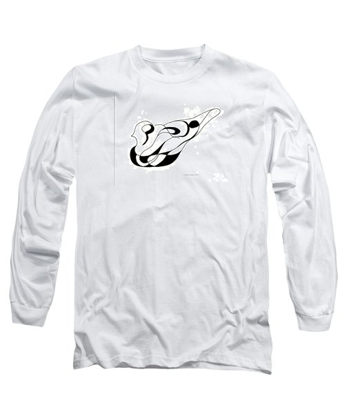 Pigeon Sculpture  Long Sleeve T-Shirt