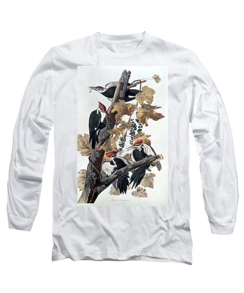 Pileated Woodpeckers Long Sleeve T-Shirt