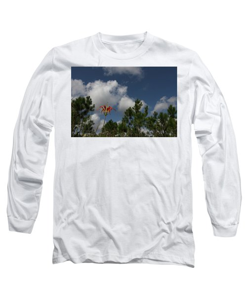 Pine Lily And Pines Long Sleeve T-Shirt