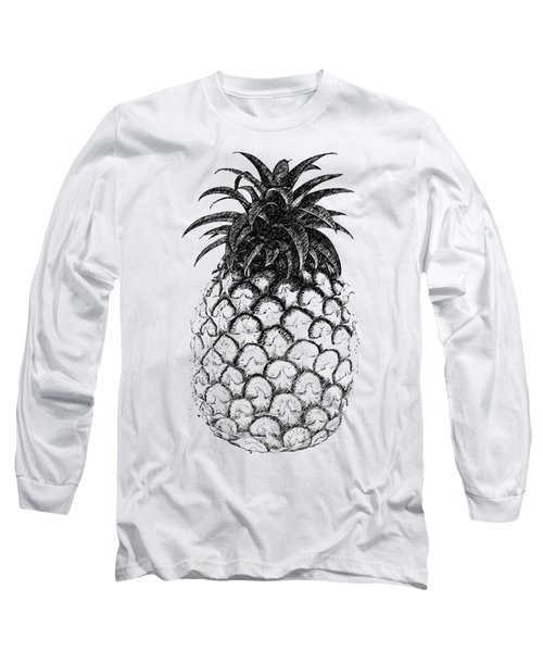 Pineapple Long Sleeve T-Shirt by Birgitta
