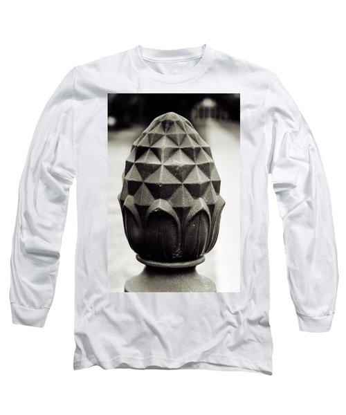 Pineapple, Oak Alley, Vacherie, Louisiana Long Sleeve T-Shirt