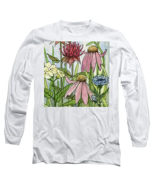 Pink Coneflower Long Sleeve T-Shirt
