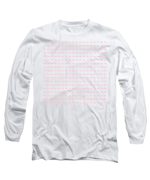Pink Dachsunds Long Sleeve T-Shirt