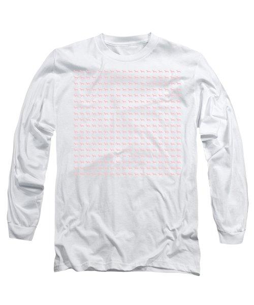 Pink Dachsunds Long Sleeve T-Shirt