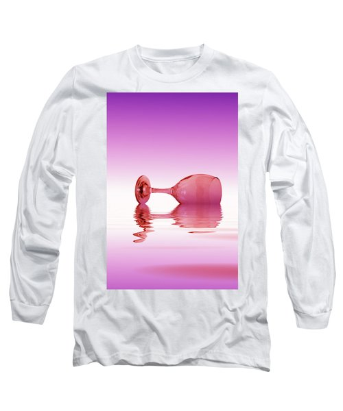 Pink Glass Long Sleeve T-Shirt