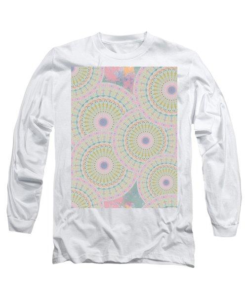 Pink Mandala Pattern Long Sleeve T-Shirt