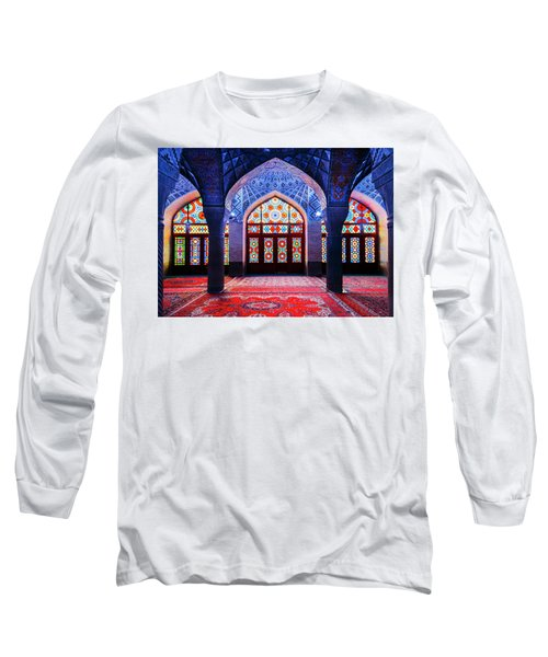 Pink Mosque, Iran Long Sleeve T-Shirt