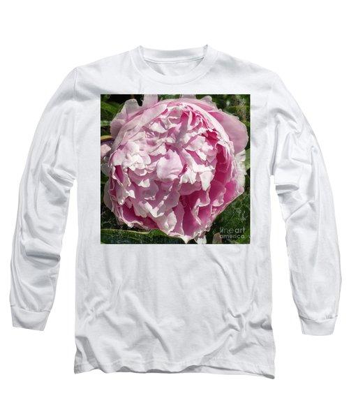 Pink Peony II Long Sleeve T-Shirt