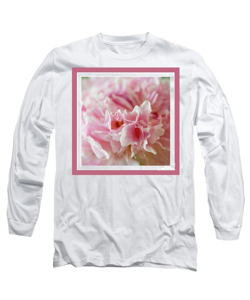Long Sleeve T-Shirt featuring the photograph Pink Perfection by Wendy Wilton
