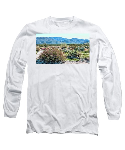 Pinyon Mtns Desert View Long Sleeve T-Shirt