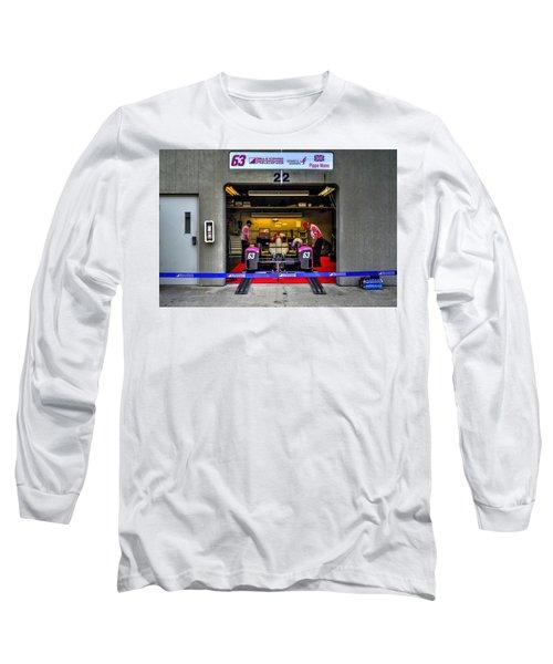 Pippa Mann Garage 2016 Long Sleeve T-Shirt by Josh Williams