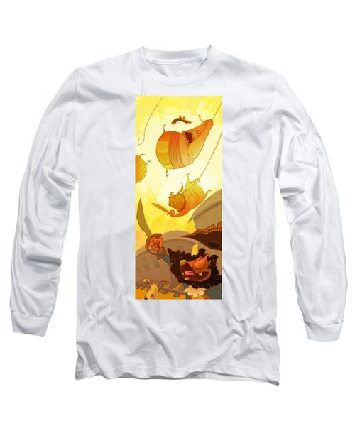 Pirate Attack Long Sleeve T-Shirt