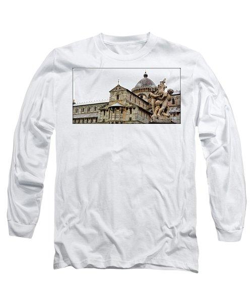 Pisa Cherubs Long Sleeve T-Shirt