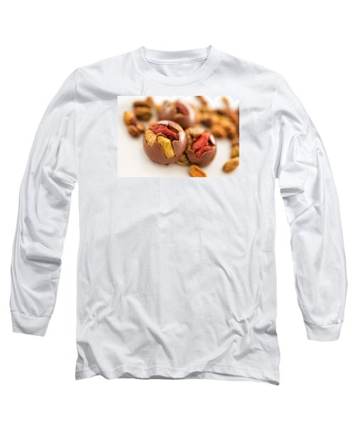 Pistachio Chocolate Long Sleeve T-Shirt