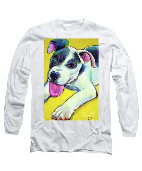 Pit Bull Puppy Long Sleeve T-Shirt
