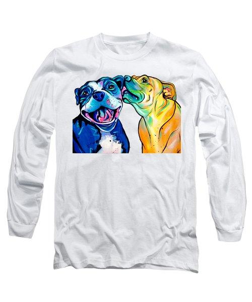 Pitbull Kisses Long Sleeve T-Shirt