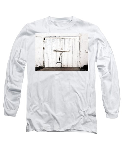 Pitch Fork Long Sleeve T-Shirt by Marilyn Hunt