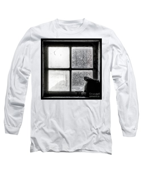 Long Sleeve T-Shirt featuring the photograph Pitcher In The Window by Brad Allen Fine Art