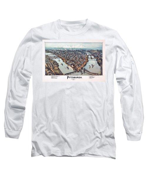 Pittsburgh Pennsylvania 1902 Long Sleeve T-Shirt