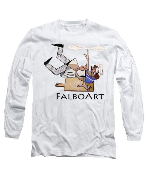 Pizza Break T-shirt Long Sleeve T-Shirt
