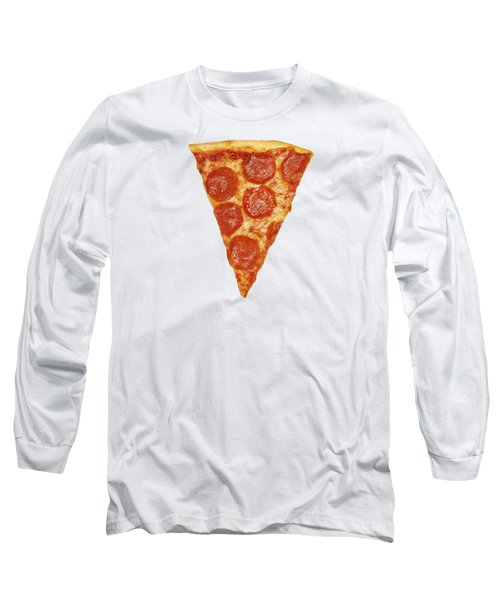 Pizza Slice Long Sleeve T-Shirt by Diane Diederich