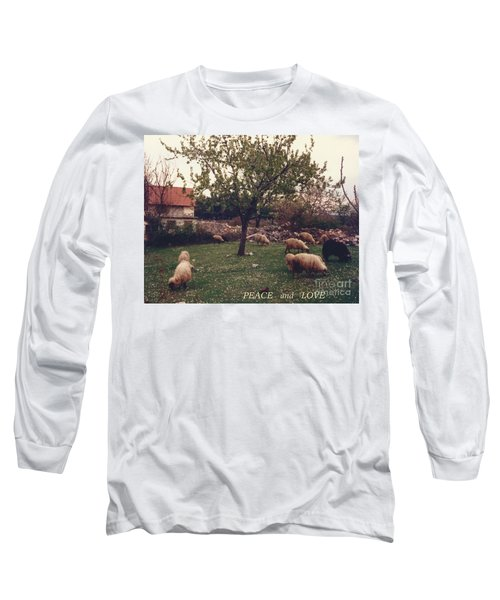 Place Of Peace And Love Long Sleeve T-Shirt