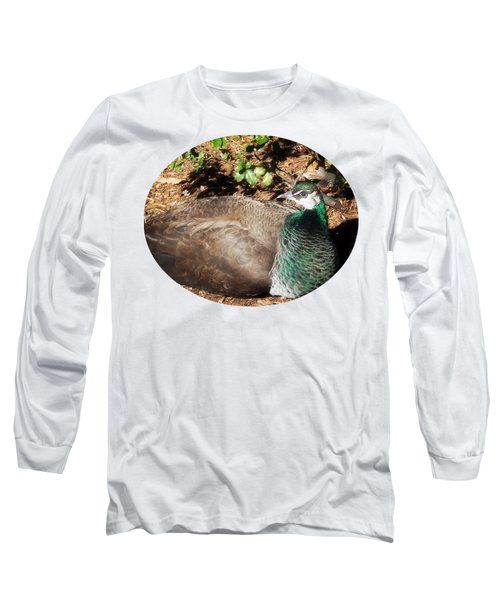 Place Of Rest Long Sleeve T-Shirt by Anita Faye