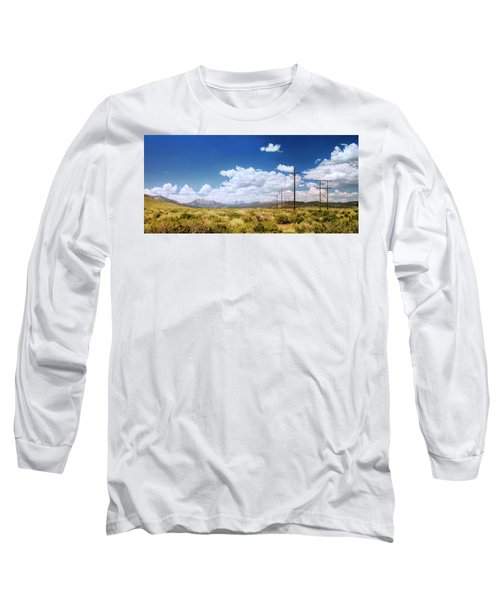 Plains Of The Sierras Long Sleeve T-Shirt