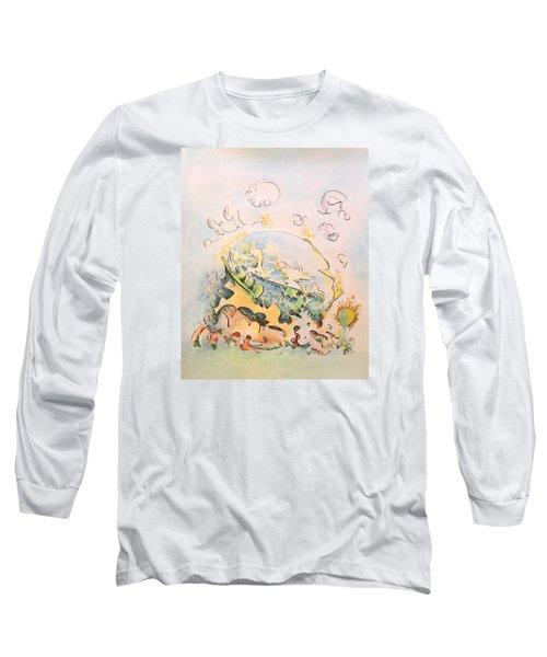 Planetary Chariot Long Sleeve T-Shirt