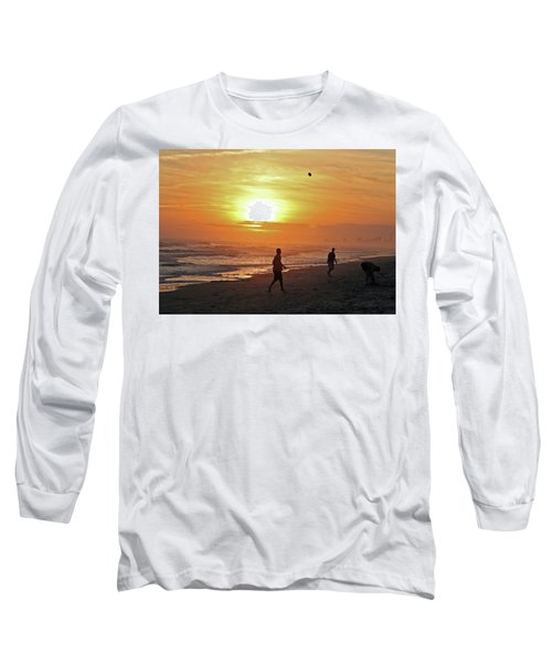 Play On The Beach Long Sleeve T-Shirt