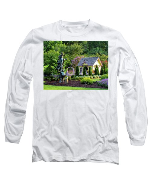 Playhouse In The Garden Long Sleeve T-Shirt