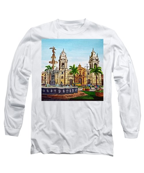 Plaza Armas, Cusco, Peru Long Sleeve T-Shirt