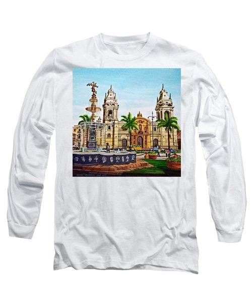 Plaza Armas, Cusco, Peru Long Sleeve T-Shirt