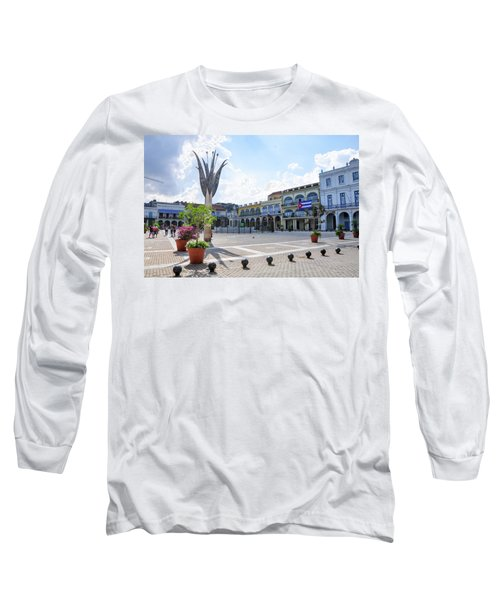 Plaza Vieja Long Sleeve T-Shirt