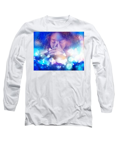 Long Sleeve T-Shirt featuring the digital art Pleasant Daydream by Gun Legler