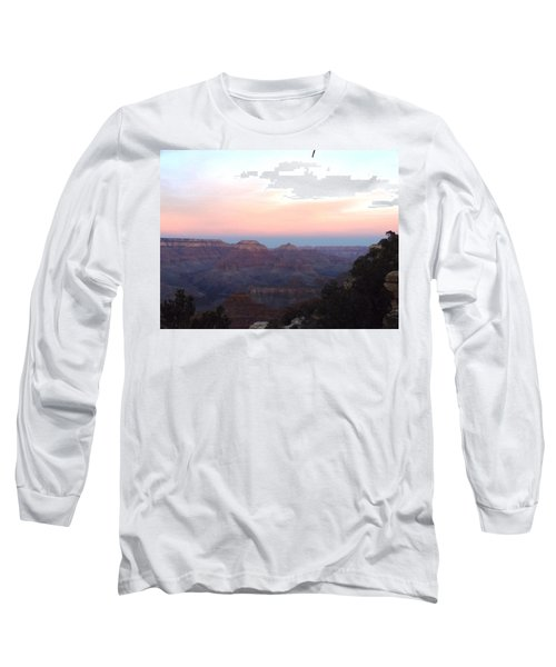 Pleasant Evening At The Canyon Long Sleeve T-Shirt by Adam Cornelison