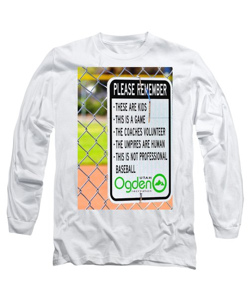 Please Remember 28 Long Sleeve T-Shirt